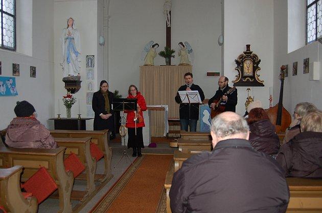Duchovní hudba zněla v Konstantinových Lázních