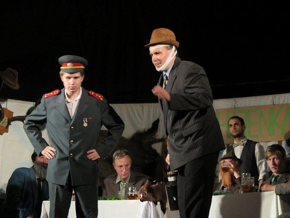 Jednu z mnoha dalších premiér za sebou má Divadelní společnost Divoch.