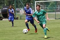 Tachov (v zeleném) zahájil v sobotu svoji letní přípravu.