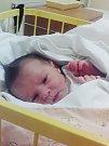 Eliška Kučerová (49cm 2710g) se narodila 24.12. v 10:42 hodin mamince Tereze Kučerové a tatínkovi Ondřeji Dobrovolnému z Cebivi.