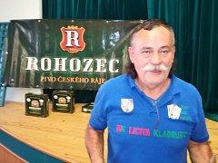 Domácí Josef Poláček skončil na turnaji třetí.
