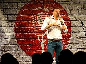 V Plané se představil Stand Up komik Miloš Knor.