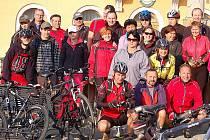 Cyklisté vyrazili na Babický štípanec