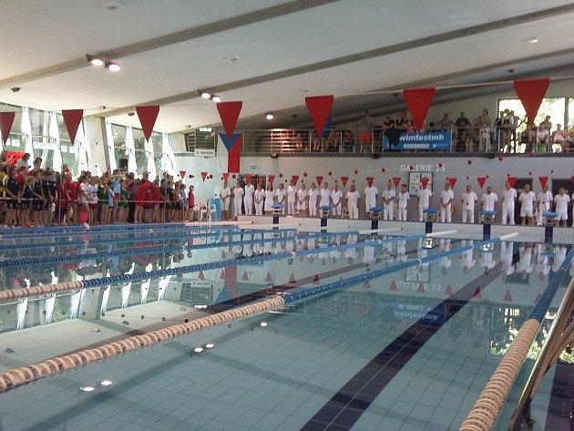Několik plavců z tachovského klubu absolvovalo vrcholný závod sezony, kterým je letní pohár.