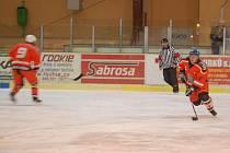 Z utkání Buldoci Stříbro – HC Kanice.