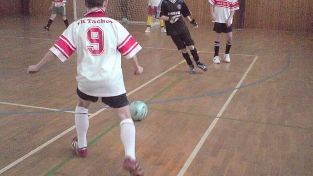 Mladí fotbalisté FK Tachov se připravují na divizní jaro