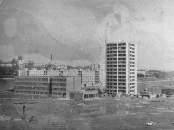 Historický snímek, místo, kde se stalo neštěstí