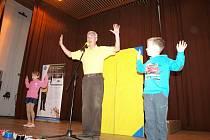 Stříbrské děti navštívil Michal Nesvadba