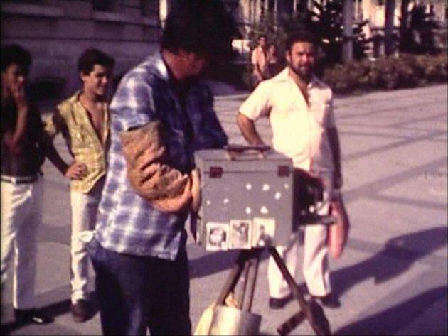 Z historie amatérského filmu na Tachovsku. Dokument Cubaroid se točil v Havaně na Kubě.