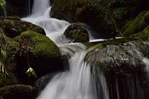 Vodopád Černá strž.