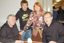 JIŘÍ KALAŠ umožnil díky svým kontaktům ve světě filmu, aby se diváci v kinech na Tachovsku mohli setkat s řadou režisérů a herců.