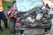 Nehoda na D5 u Přimdy