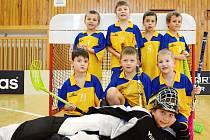 Mladí florbalisté Slavoje Tachov odjeli sbírat zkušenosti na turnaj mini přípravek do Plzně, kde si připsali první body.