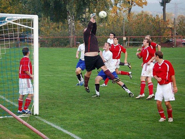 Fotbal–1. A třída: TJ Rozvadov – VD Luby 3:1