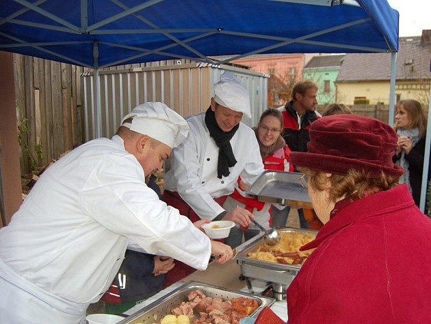 Farmářské trhy v Tachově
