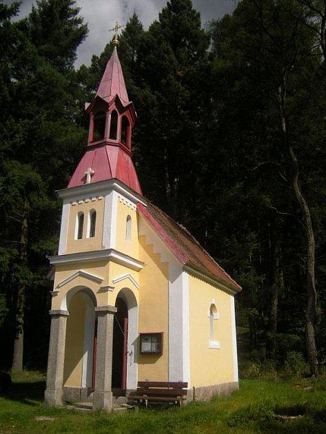 Kaple Nejsvětější Trojice v osadě Valcha.