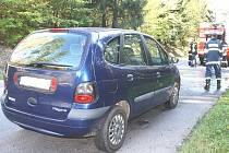 Nedaleko Plané se v sobotu stala kuriozní nehoda. Při jízdě se vznítilo hnízdo mladých kun ukryté v motoru.