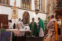 Pro věřící z Tachova a blízkého okolí byla neděle svátečním dnem.