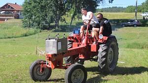Traktoriáda v Bernarticích 2019