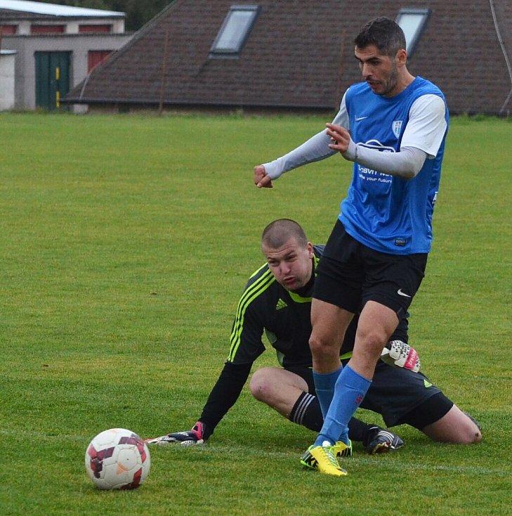 FC MAS Táborsko B a FK Tachov