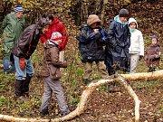 Výprava poznávala, jak žijí bobři na Kateřinském potoce.