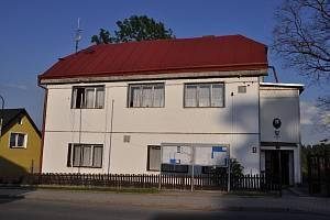 Budova obecního úřad v Rozvadově.