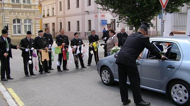 Hornická svatba ve Stříbře