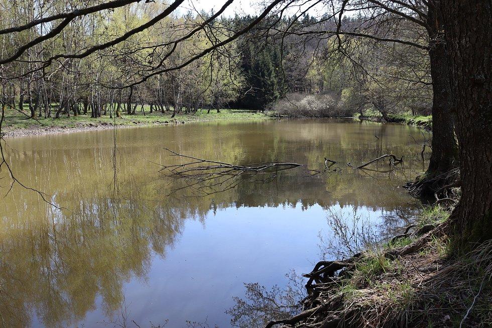 Jeden ze zapomenutých revírů. Tentokrát Matěj vyrazil na rybník Vzbouřených sedláků.