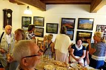 V prostorách Cukrárny u kostela je k vidění výstava Květoslava Jiránka