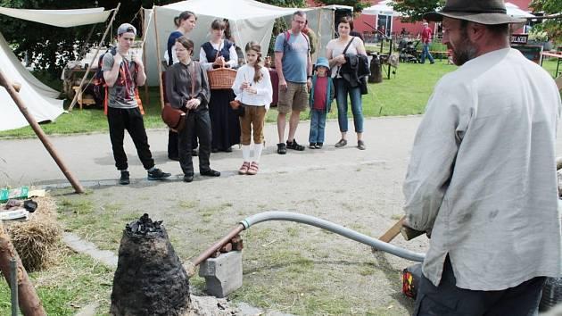 Středověké slavnosti v Bärnau