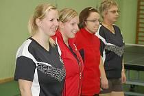 Stolní tenis–II. liga: S. Bor střechy Homolka – St. Žižkov 8:2;– EL Niňo Praha 6:4