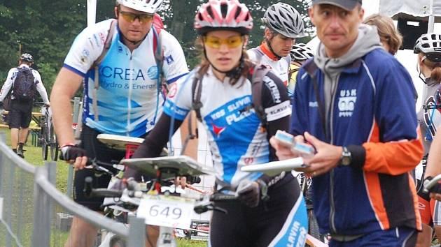 Novou Ves u Přimdy obléhali cyklisté