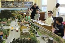 Výstava železničních modelů v Tachově.