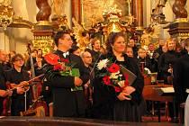 Stejně jako loni zahájí i letos festival HUdební léto Borska Kühnův smíšený sbor se svými sólisty.