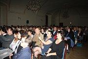 Lenka Filipová vystoupila v zámeckém Velkém sále v Boru.