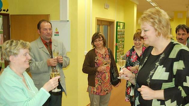 Slavnostního znovuotevření se zúčastnila také ředitelka městského kulturního střediska v Tachově, Božena Vaňková.