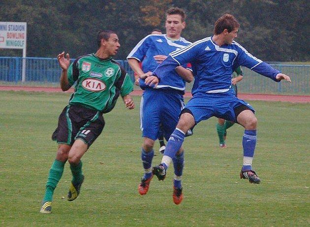 Mužstvo FK Tachov podlehlo na domácím trávníku po bezbrankovém poločasu lídru soutěže 1. FK Příbram B 0:1