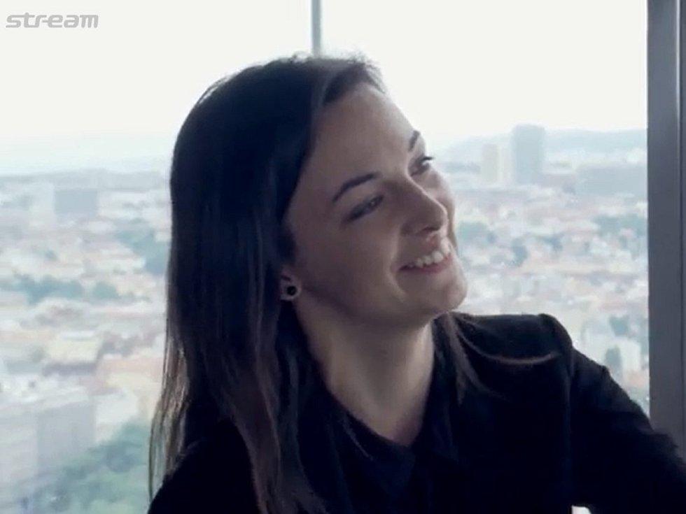 Aneta Sklenářová, vítězka soutěže