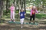 Děti si pobyt na táboře v Boněticích opravdu užívají.