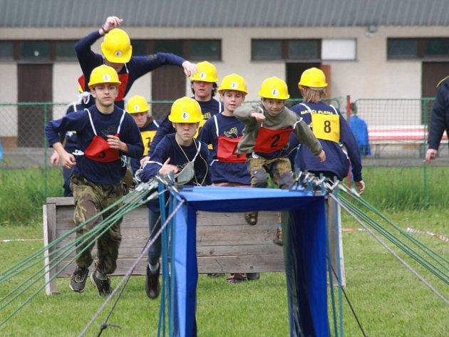 Plánští mladí hasiči zvítězili v požární soutěži Plamen