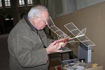 Ze soutěže leteckých modelářů