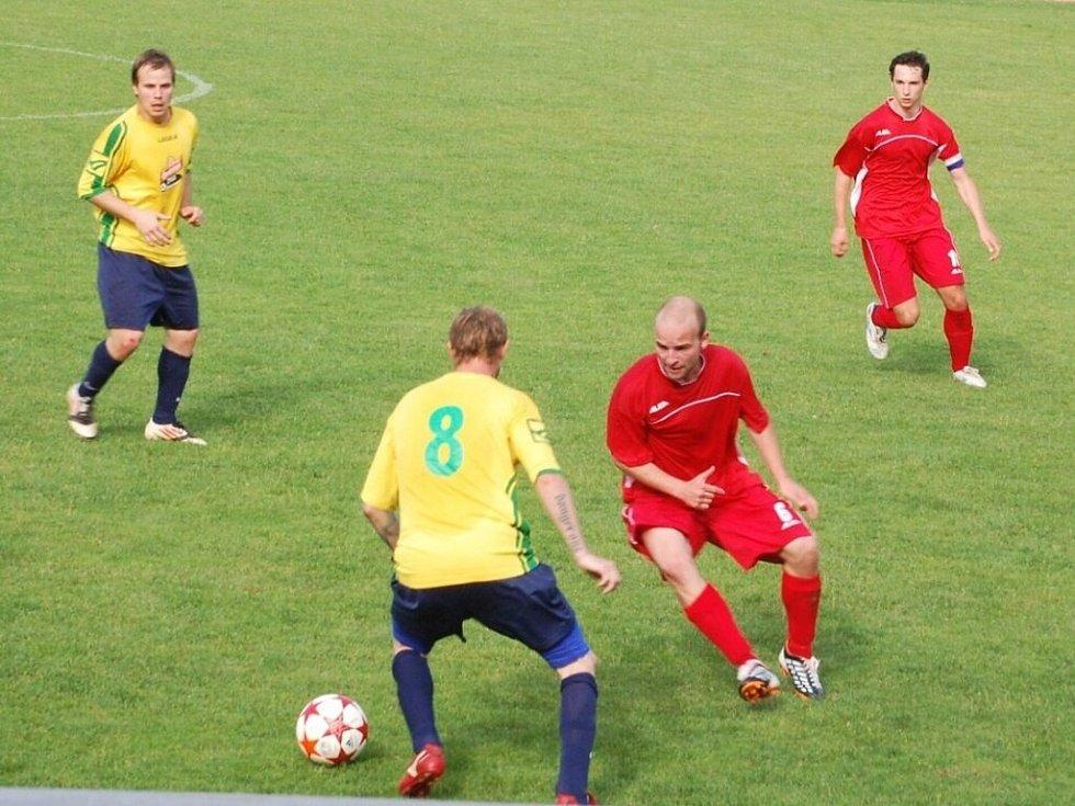 Fotbalová baráž: Stříbrští po prohře v Křimicích 1:4 neuspěli ani v domácí odvetě
