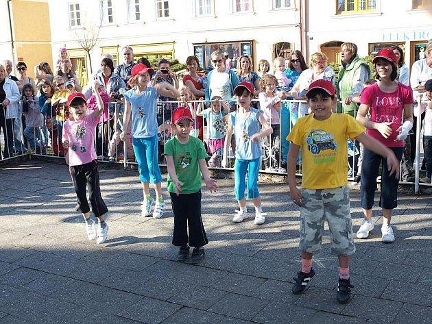 Plánské náměstí patřilo v sobotu hlavně dětěm