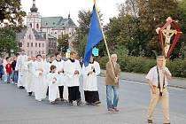 SVĚTELNÝ PRŮVOD. Také letos se věřící chystají na průvod městem tak, jako v loňském roce.