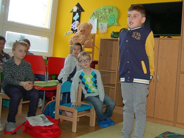 Okresní kolo recitační soutěže v Tachově.