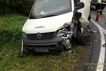 Dopravní nehoda u Plané.