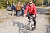 Cesta kolem řeky Mže ve Stříbře je cyklisty často využívána.