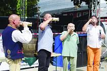 Sobota v Chodové Plané patřila pivním slavnostem
