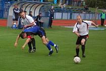 Fotbalové utkání Tachov – Admira Praha 0:2.