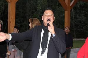 Davide Mattioli v Rozvadově.